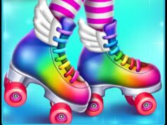 Roller Skating Girls